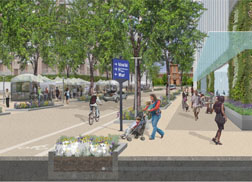 Rendering of 10th St SW