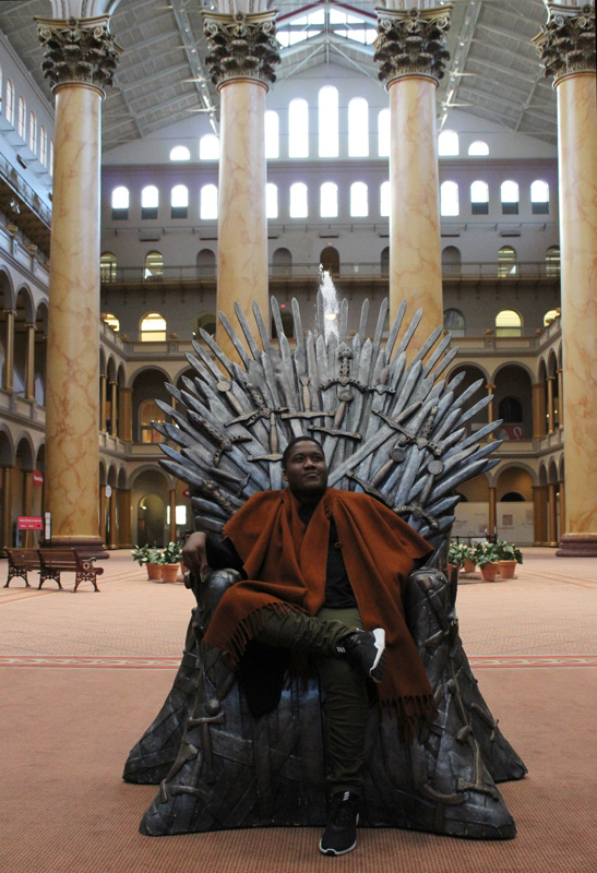 Megafort Great Hall Iron Throne