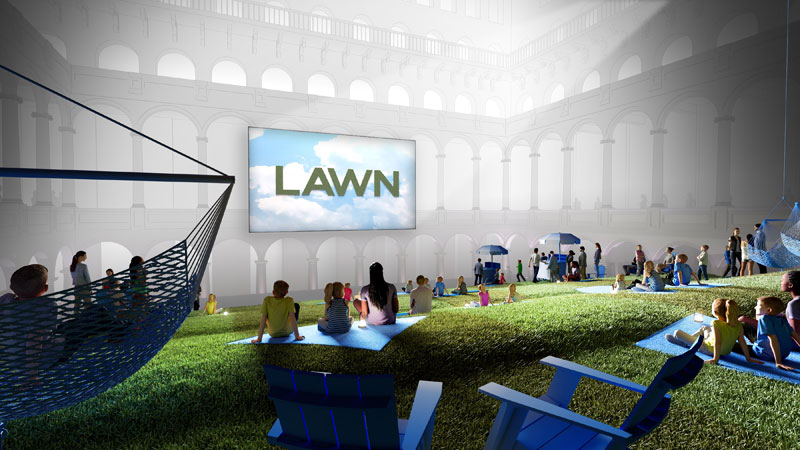 Lawn Movie Night