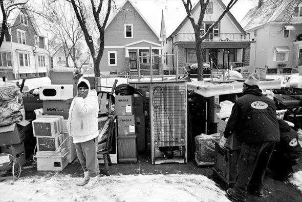 Evicted photo by Sally Ryan